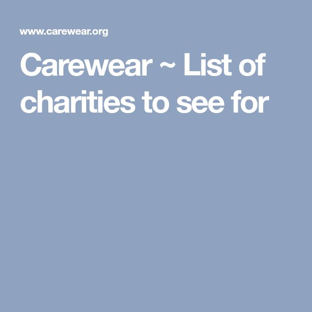 Best 25+ Charities list ideas on Pinterest E 9, London for kids - charity evaluation