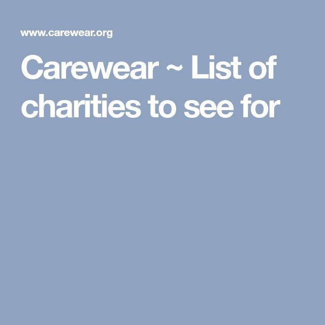 Best 25+ Charities list ideas on Pinterest E 9, London for kids - charity evaluation