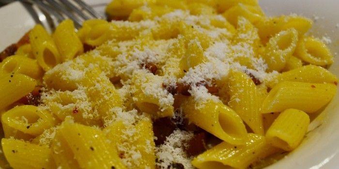 #pasta alla #gricia #ricetta http://blog.giallozafferano.it/tasteit/pasta-alla-gricia/