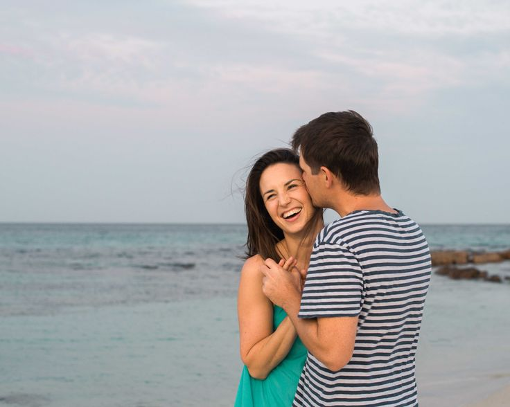 Engagement Portraits Natural Beach Portrait Photography