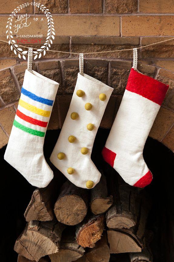 1000 ideas about felt stocking on pinterest christmas for Felt stocking decorations