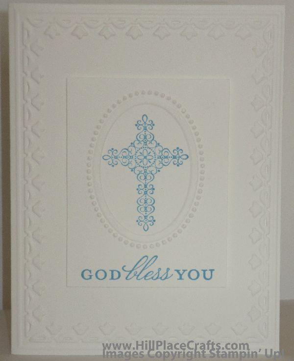 Crosses of Hope Baptism Card