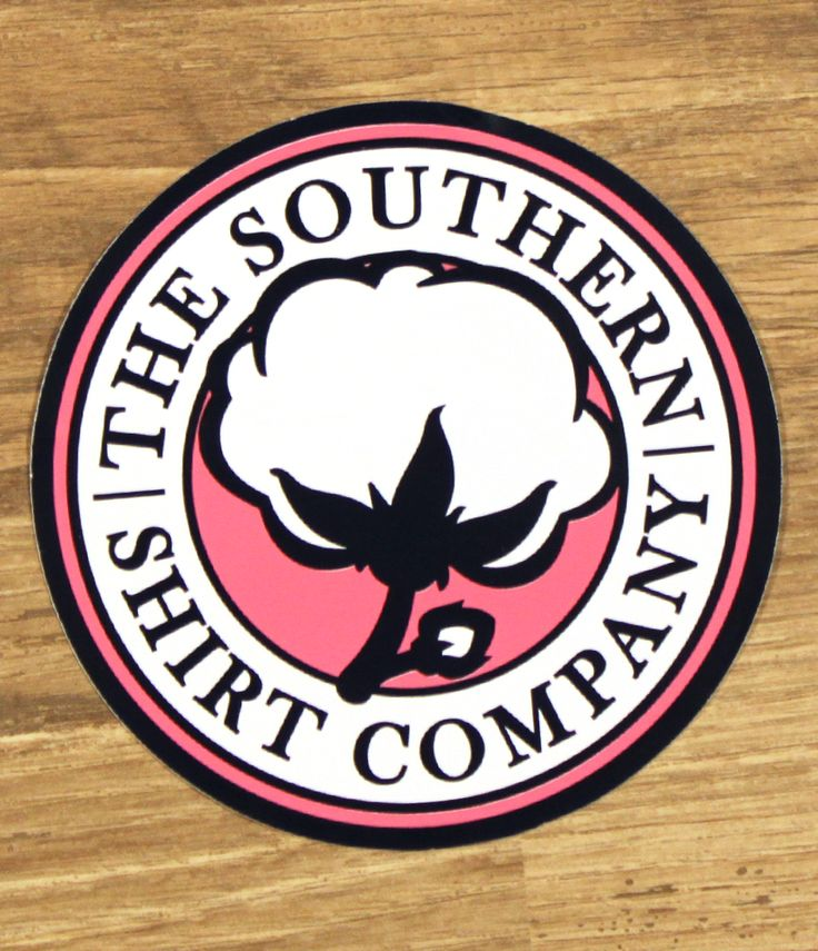 SSCo Logo Sticker - Accessories - Shop | The Southern Shirt Company