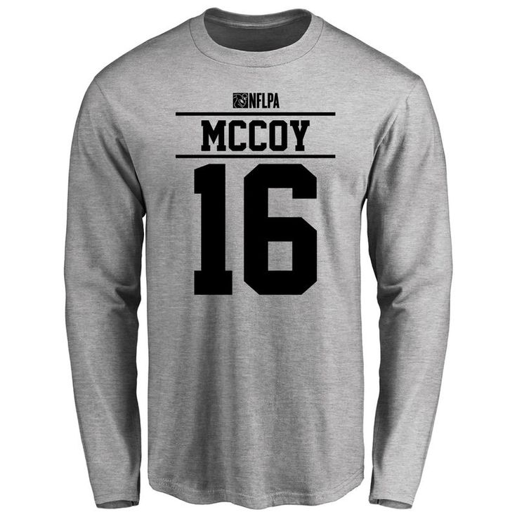Colt McCoy Player Issued Long Sleeve T-Shirt - Ash
