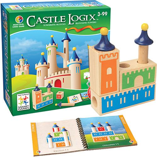 Castle Logix Game for Preschoolers by Smart Games