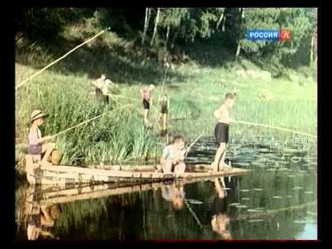 Жизнь в СССР после войны.В цвете.