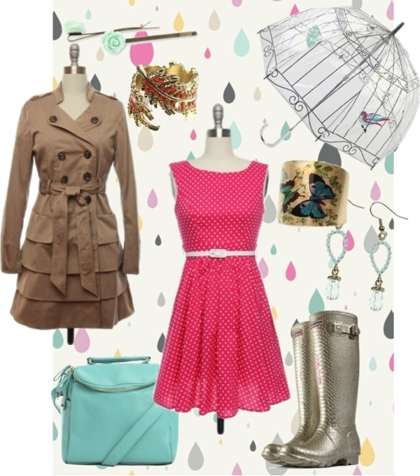 """Lace Affair Rainy Day"" by laceaffair on Polyvore"