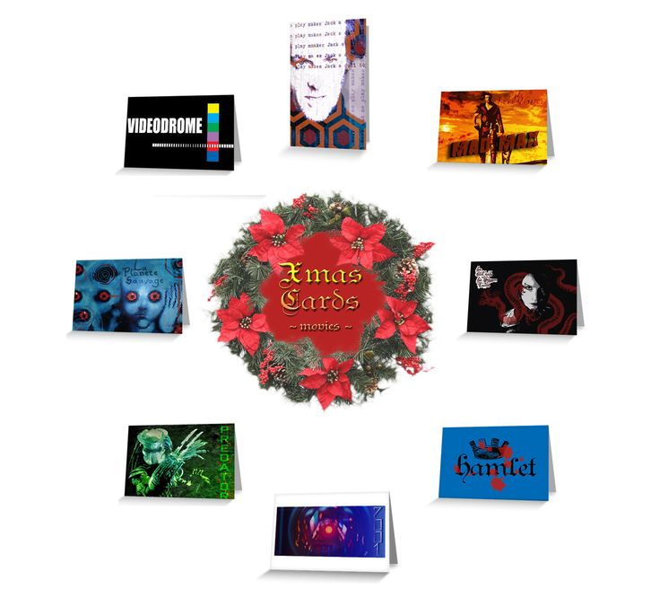 Movies Christmas Cards by Scar Design #XmasCard#ChristmasCards #buyxmascards #buychristmascards #BreakingBadCard #moviesgifts #giftsforhim #giftsforher #photography #greetingcards #scardesign #redbubble #artist #holidaywishes #cinephile #cinephilegifts #happyholidays #merrychristmas #MerryChristmas #theshiningmoviecard #HamletCard #PredatorCard #moviexmascards #cinemacards #madmaxcard #cinema  #videodrome #uniquegreetingcards  #scificards #uniquecards #postcards #buypostcards…
