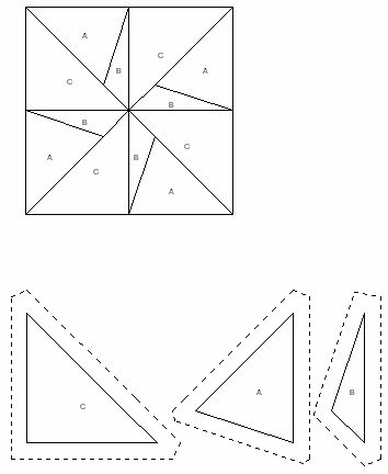 Pattern Block Template Pattern Block Blocks Coloring Printable