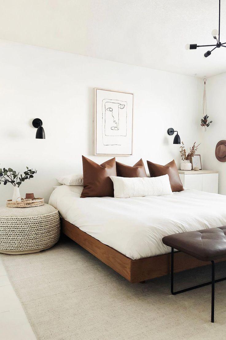 Basi Walnut Queen Bed Frame Bedroom Interior Home Decor Bedroom Home Bedroom