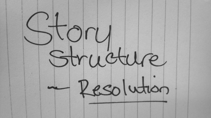 What does the resolution of your story look like? Don't know? How about your main character, what does he look like at the end? I don't necessarily mean look, like in terms of appearance, but rather in terms of values, morals, and virtues.  In the Seven Point Story Structure inspired by Dan