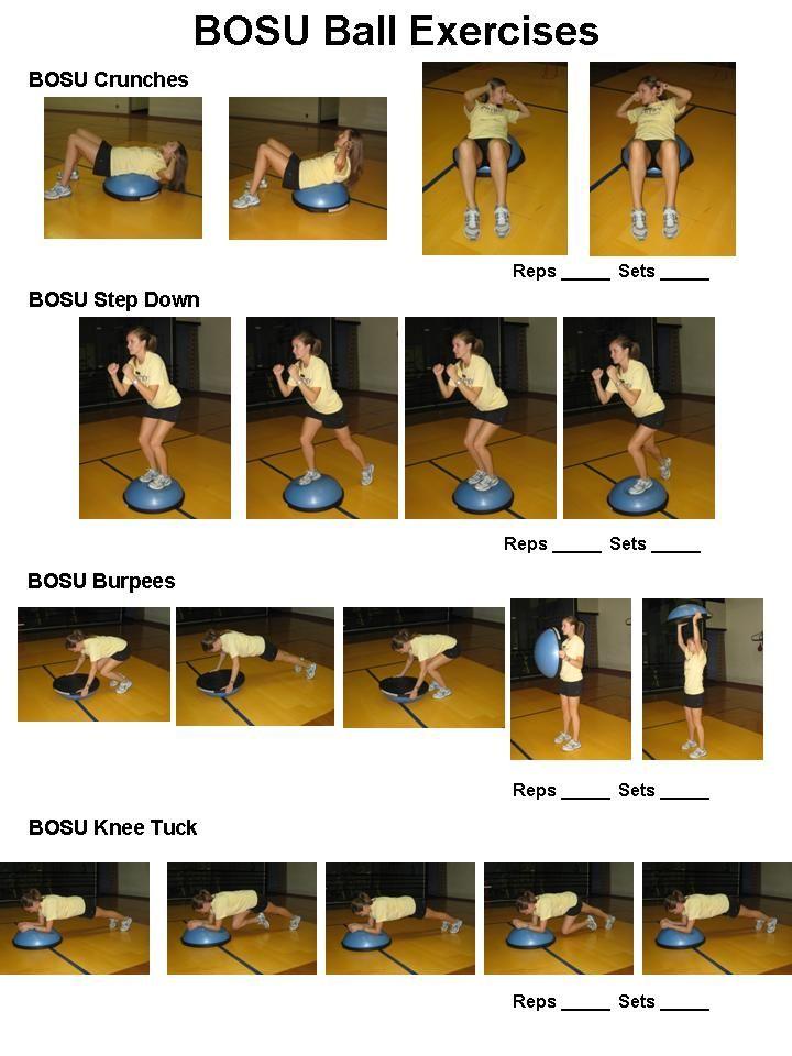 how to fix a bosu ball