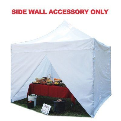 King Canopy INASW4P15WH 10-Feet by 15-Feet 4-Pack Sidewalls for Festival Instant Canopy, White by King Canopy. $113.78. 10-Feet by 15-Feet-four total walls. Hooks around perimeter truss bars. 100-Percent White Polyester. 2-Solid Walls 2-Zippered Walls. The Festival Sidewall Kit is the perfect solution to fully enclose your instant canopy or partially block off a couple side walls. Installs in seconds.