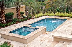 Geometric Pools - Blue Haven Custom Swimming Pool and Spa Builders
