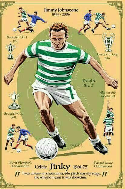 Jimmy Johnstone of Celtic wallpaper.