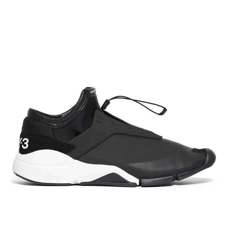Future low sneakers from the F/W2016-17 Y-3 by Yohji Yamamoto collection in black