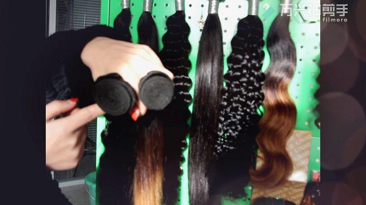 Professional Hair Manufacturer-Wholesale Virgin Hair Extensions Hair Sup...