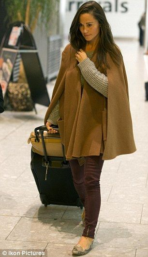 Pippa Middleton looking amazing in a cape!! A CAPE! They