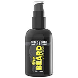 Tombstone The Beard Growth Enhancing Serum - Grow Richer, Fuller, Longer Looking and Softer Facial Hair - Best for Beard Care Products
