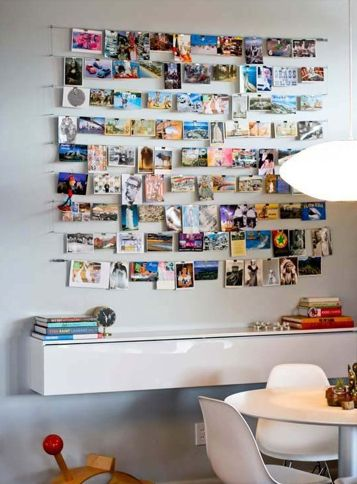 Image result for wall decoration with photographs