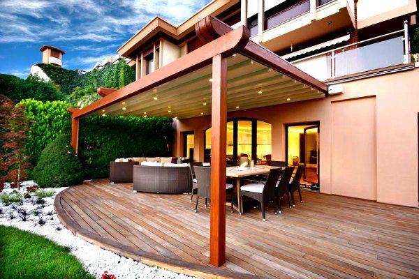Retractable Roof Pergola   DIY...canvas Clips And A Few Posts | House |  Pinterest | Pergolas, Retractable Pergola And Backyard