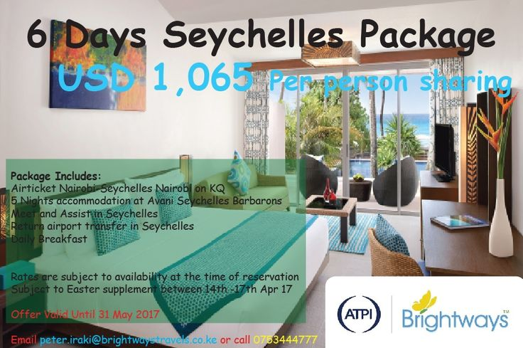 Brightways Travels » Seychelles Holidays Package at Avani Seychelles Barbarons Resort