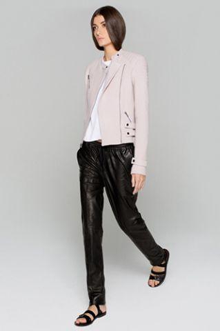 Leather-Sweatpants