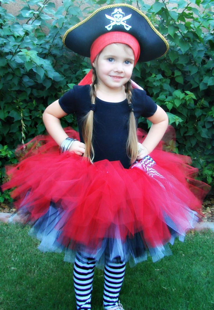 Girls Tutu Pirate por KadydidDesigns en Etsy