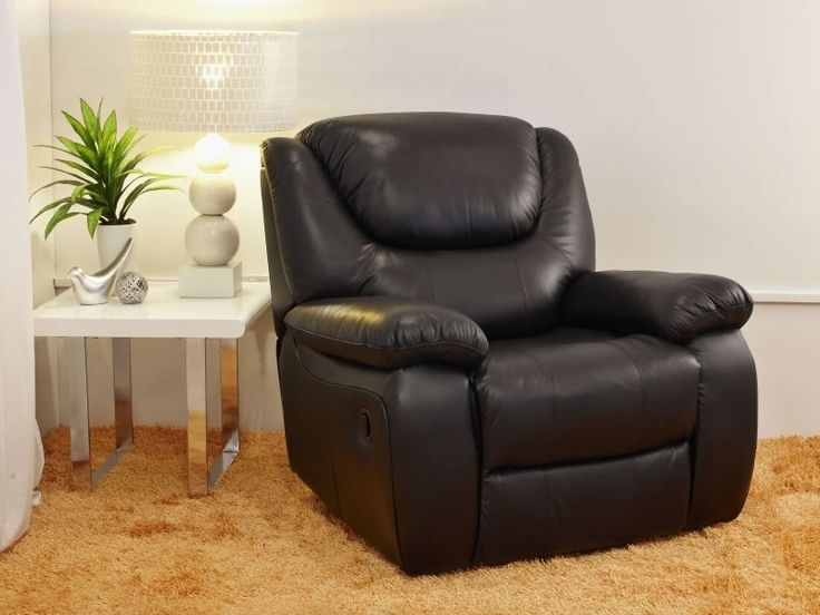 Recliners : Pacific Leather Recliner Only - 6141