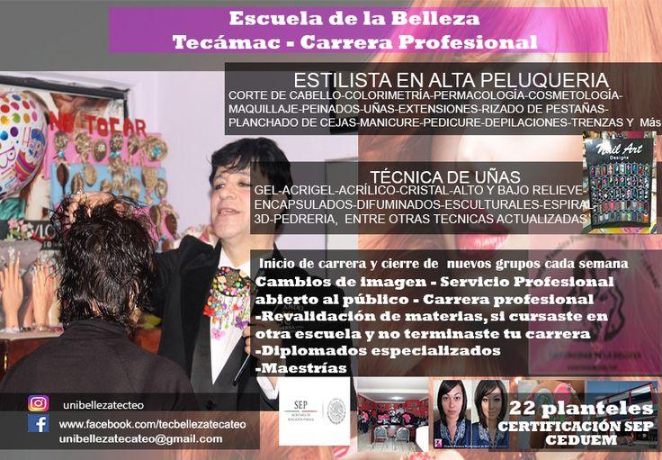 centro de estudios  de belleza Tecámac y Teotihuacán 5