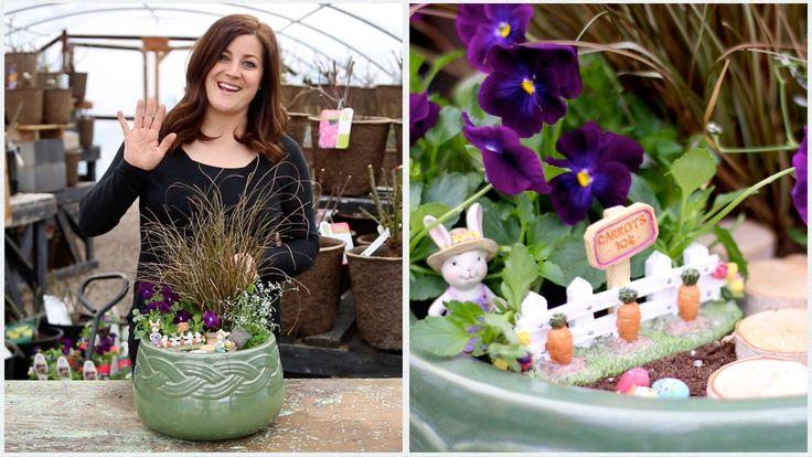 Make An Easter Fairy Garden!