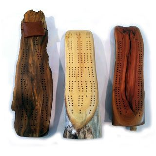 Driftwood Cribbage Boards - Dennis Kincaid | Touchstone Gallery