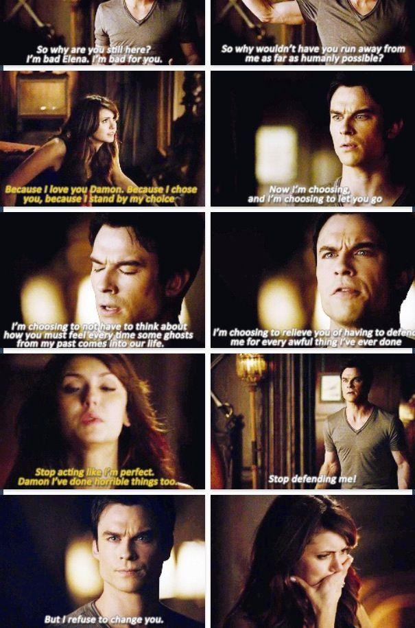 Elena & Damon