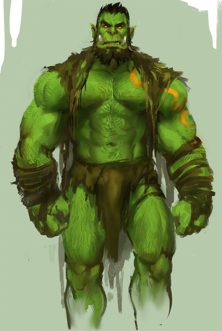 orc by yy6242.deviantart.com on @DeviantArt