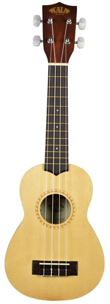 """New comer! The Kala Satin Mahogany Series Ukulele offer a full-bodied tone with plenty of """"Sweet Highs"""" and """"Mellow Lows."""" The 15S-S is designed based on our top seller - the KA-15S. Like the 15S, the"""