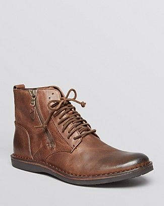 John Varvatos USA Barrett Side Zip Boots | Bloomingdale's