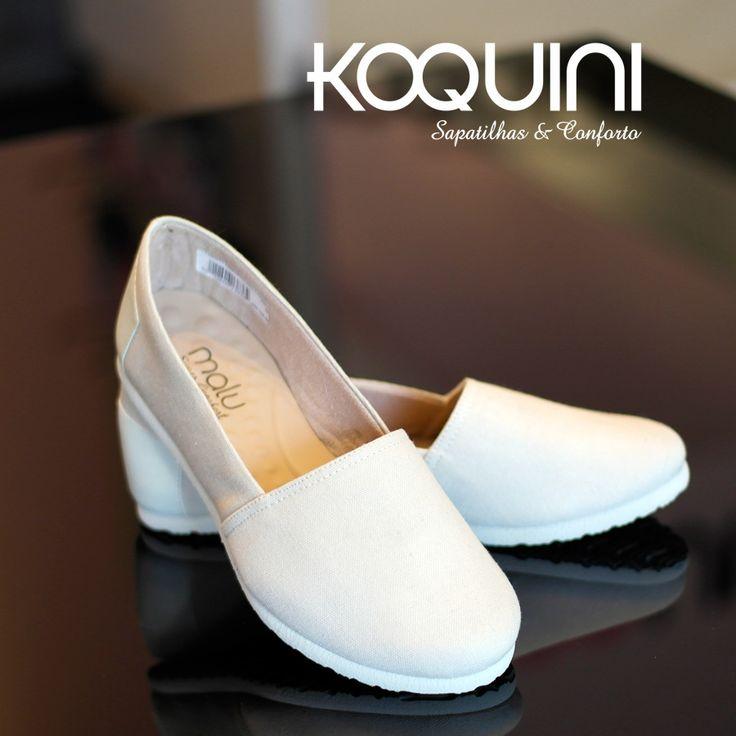 Deixando sua manhã preguiçosa e muito confortável #koquini #sapatilhas #euquero #malu Compre Online: http://koqu.in/1grrvOP
