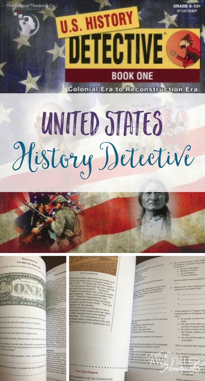 Looking for another amazing resource for modern and U.S History? U.S History detectives is one to add in! Especially if you have preteens through middle school!