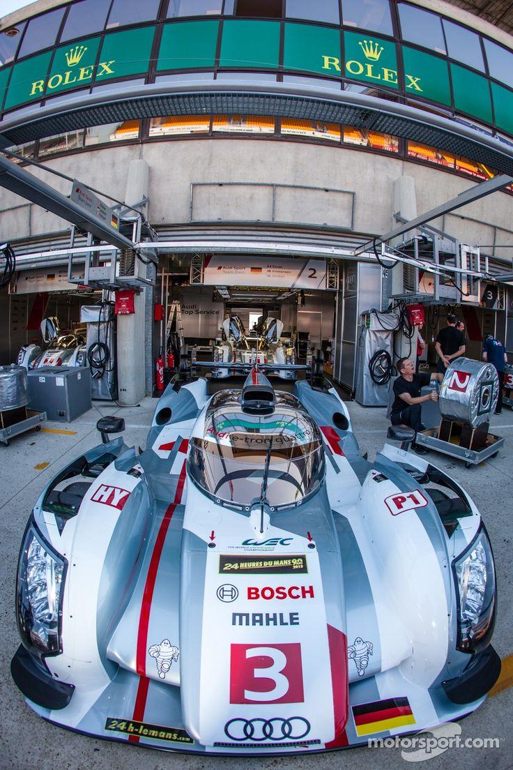 Audi Motorsport Blog: Gallery: Preparing Le Mans 24 Hours test day by motorsport.com