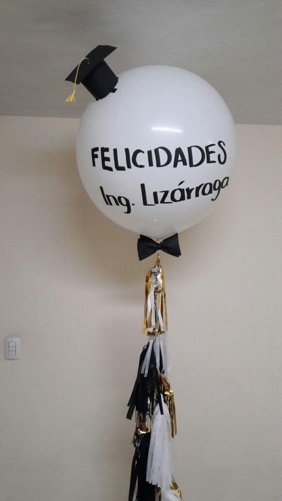 Globo gigante Graduacion