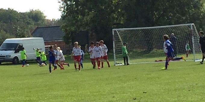 Andover Town Youth 12s Blue Extend Their Unbeaten Run