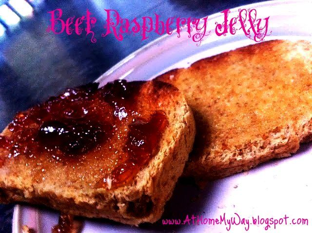 "At Home My Way: Canning Raspberry ""B"" Jelly"