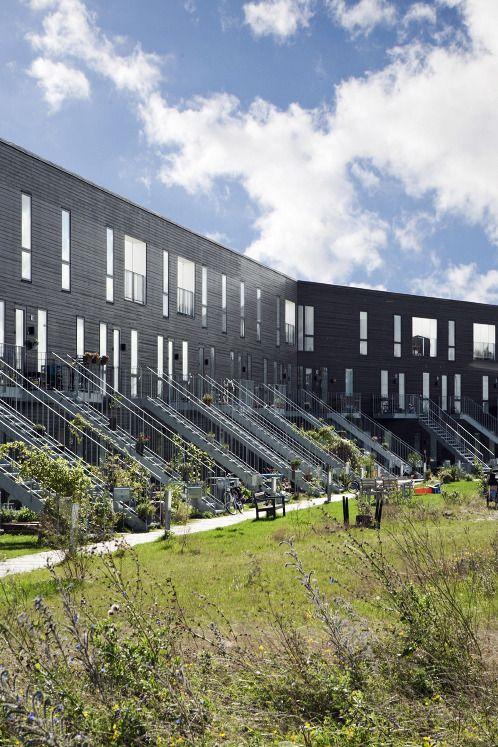 Lange Eng Collective Living / copenhagen / 2009 - DORTE MANDRUP ARKITEKTER