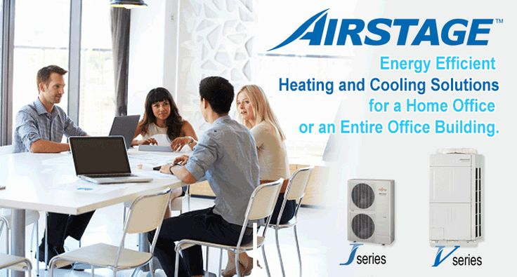 Fujitsu General Airstage Variable Refrigerant Flow Systems