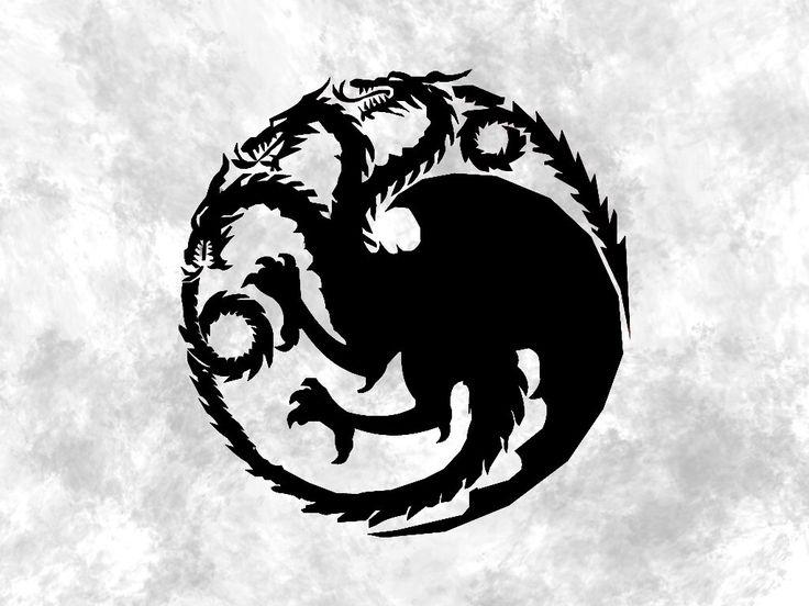 Game of Thrones House Targaryen Decal / Targaryen Decal