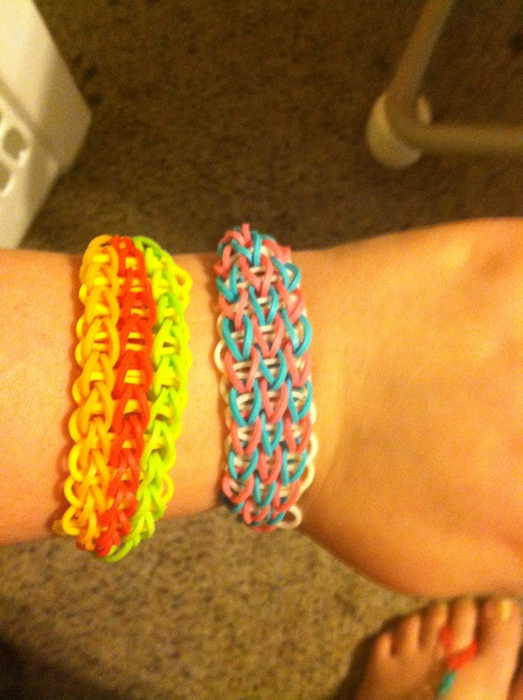 34 best images about Rainbow Loom Triple Single Bracelet ... Rainbow Loom Double Triple Single