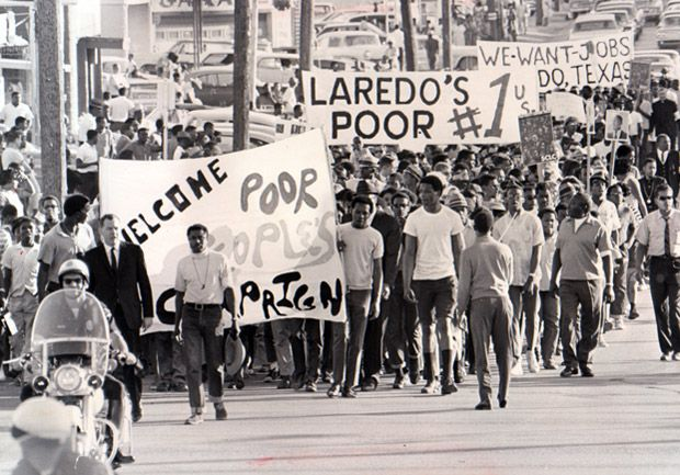 After the Civil rights movement I continued working toward getting blacks proper equality but included poor whites as well. One way of doing this was the campaign I created called the poor people's campaign to address the issues of the lower class.