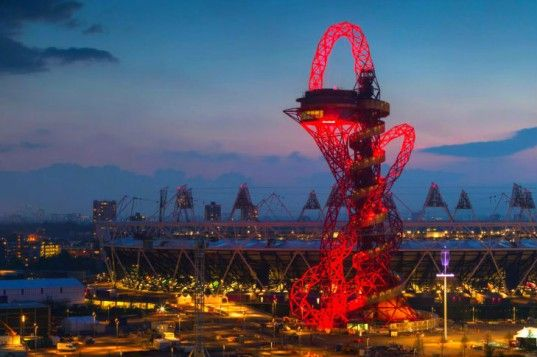 Anish Kapoor's Recycled Steel ArcelorMittal Orbit Tower Provides Views of London's Olympic Park | Inhabitat - Sustainable Design Innovation, Eco Architecture, Green Building