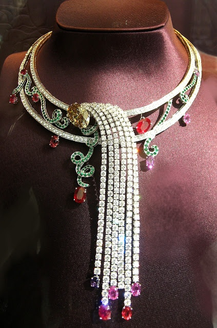 Diamonds and Rhubarb ®  Who is Boucheron today?
