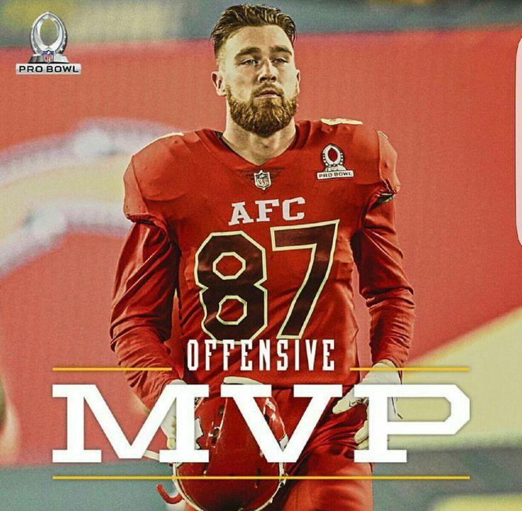 Pro Bowl Offensive MVP! Travis Kelce #kansascitychiefs